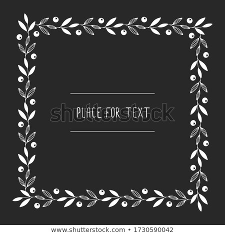 Chalkboard with place for text. EPS 10 Stock photo © beholdereye