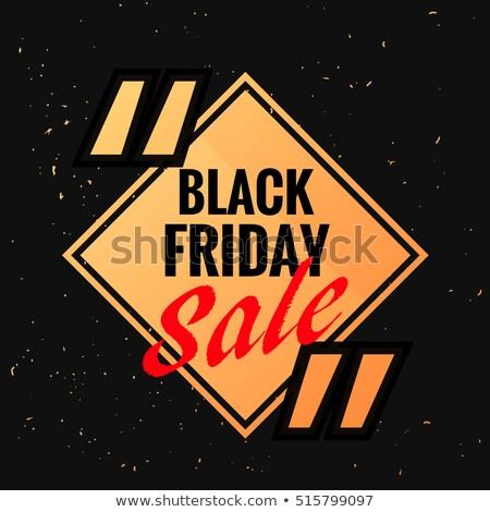 ブラックフライデー シンボル 販売 割引 オプション マーク ストックフォト © SArts
