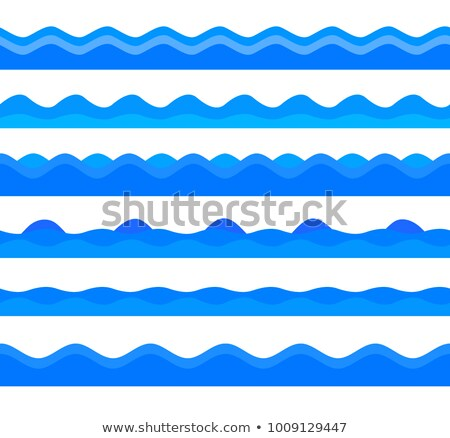 Hullámfoma tenger zöld zene papír absztrakt Stock fotó © SwillSkill