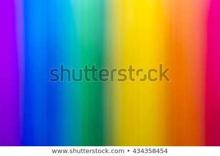 Abstract defocussed background with rainbow colours Stock photo © manfredxy
