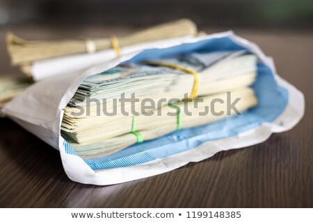 dollar · envelop · Open · geïsoleerd · witte - stockfoto © 5xinc