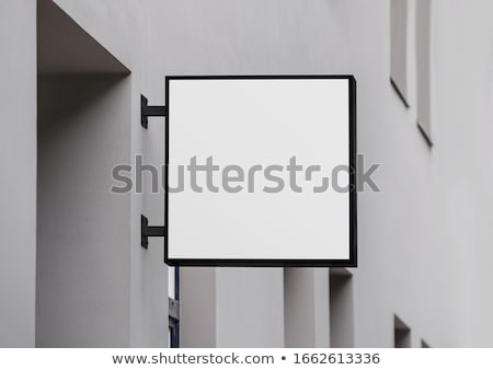 shop sign stock photo © luissantos84