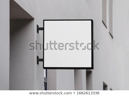 ショップ にログイン アンティーク 絞首刑 レンガの壁 建物 ストックフォト © luissantos84