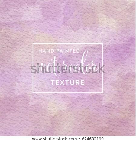 Lila citromsárga pasztell vízfesték papírzsebkendő papír Stock fotó © balasoiu