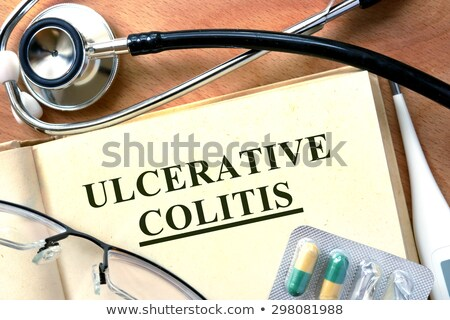 Ulcerative Colitis Diagnosis. Medical Concept. Stock photo © tashatuvango