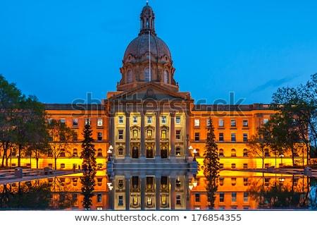 Alberta Legislative Building at night Stock photo © benkrut