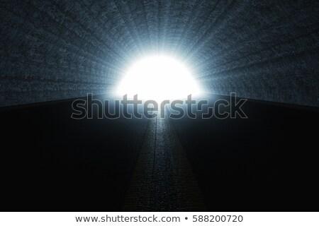 tunnel end light stock photo © dotshock
