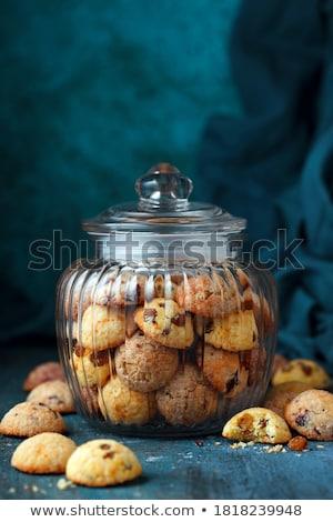 üveg édes mazsola ki hely étel Stock fotó © Digifoodstock