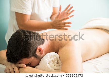 Massage Techniques I Stock photo © hannamonika