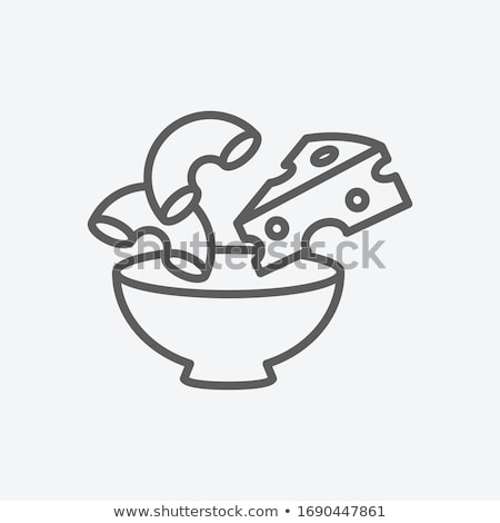 Portion of macaroni and cheese Stock photo © Alex9500