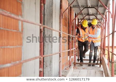 werkplek · gezondheid · werknemer · shot · medische - stockfoto © diego_cervo