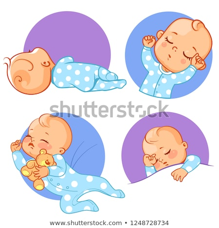 Cartoon Angry Bear In Pajamas Stock photo © cthoman