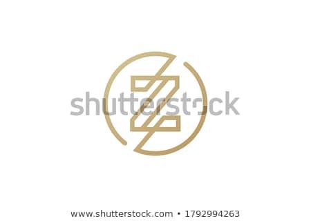 colorful z letter icon vector symbol illustration stock photo © blaskorizov
