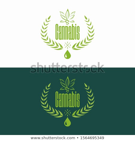 Marijuana simbolo icona cannabis vettore Foto d'archivio © blaskorizov
