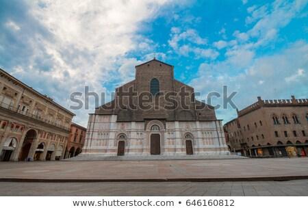 Bazilika İtalya görmek kilise seyahat mimari Stok fotoğraf © boggy