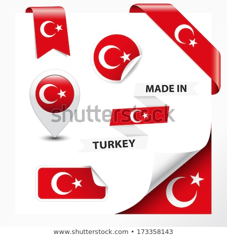 Turquia · bandeira · parede · fundo · arte · grafite - foto stock © colematt