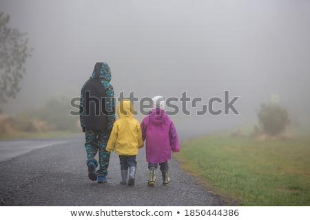 Três meninos crianças criança fundo arte Foto stock © colematt