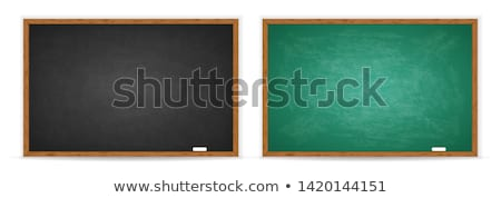black blank blackboard black board copy space stock photo © lunamarina