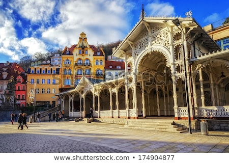 Hotel in Karlovy Vary; Czech republic Stock photo © borisb17