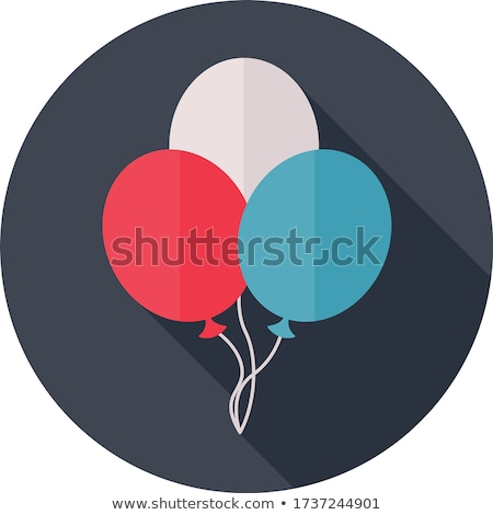 USA Colors Balloons Shadow Stock photo © limbi007