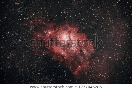 Lagoon Nebula located in the constellation Sagittarius. Stock photo © NASA_images