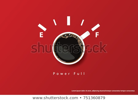 Kahve molası bunalımlı ofis çalışanı stres Stok fotoğraf © RAStudio