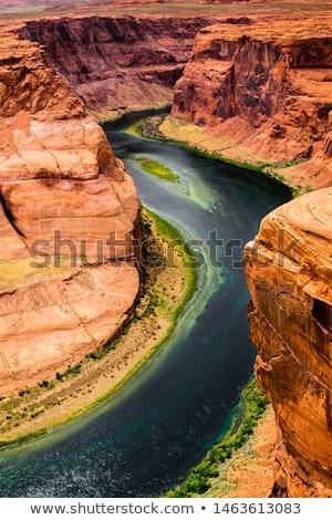 Légifelvétel út Grand Canyon sivatag tájkép természet Stock fotó © dolgachov