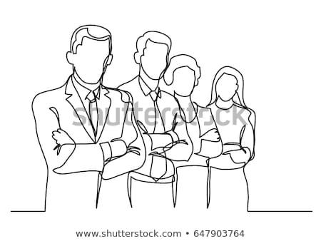 Business discussion vector concept metaphor Stock photo © RAStudio