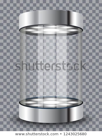 Cylinder showcase Stock photo © montego