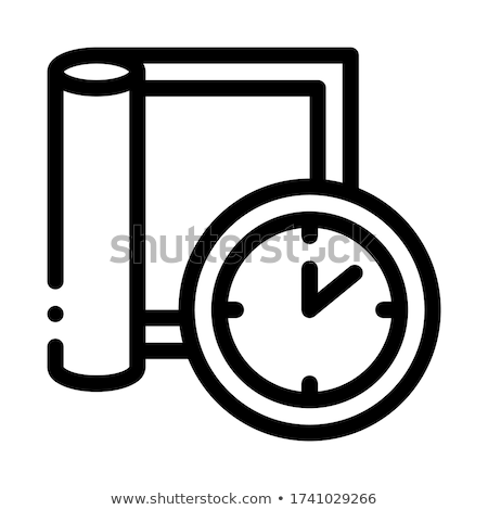 carpet cleaning timeout icon vector outline illustration Stock photo © pikepicture