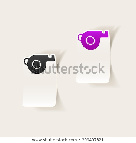 Trill whistle Stock photo © joker