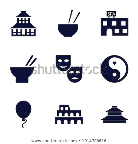 Chinese culture icons Stock photo © sahua
