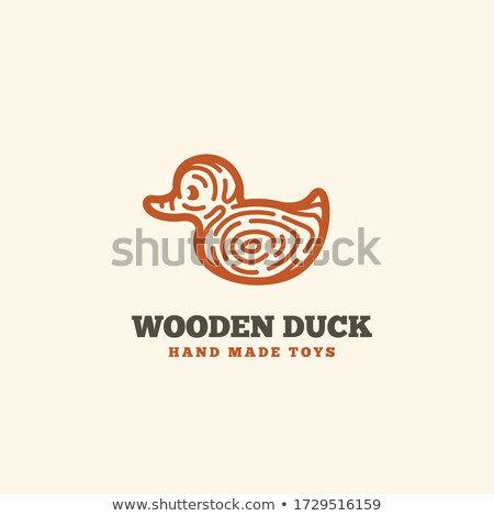 Wooden Duck Stock photo © premiere