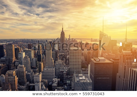 Sunrise skyscraper Stock photo © Tawng