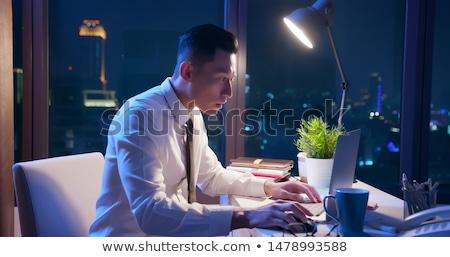 businessman deadline stock photo © leeser