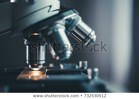 metallic microscope Stock photo © smithore