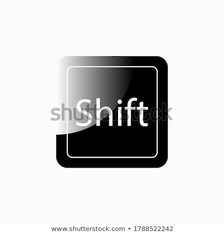 Tastiera pulsanti idea parola fine Foto d'archivio © designsstock