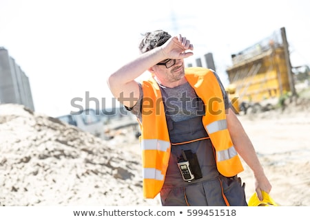 tired construction worker stock photo © photography33