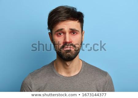 красный глаза целевой человека энергии Сток-фото © vlad_star