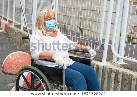 Medical procedure for elderly invalid Stock photo © photography33
