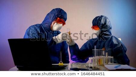 2 · 科学者 · 作業 · 室 · 女性 · 作業 - ストックフォト © photography33