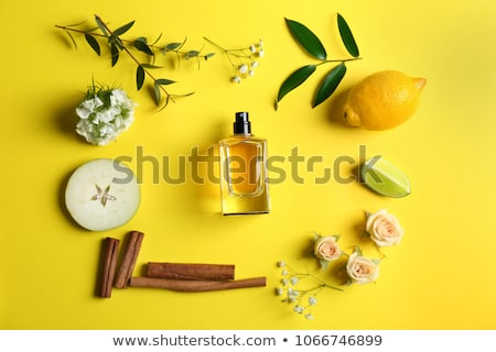 beauty fruits composition with lemon and apple Stock photo © alex_davydoff