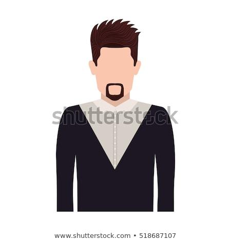 Handsome Man with Van Dyke stock photo © lisafx