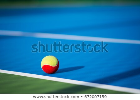 Complete red Tennis Equipment Stock photo © pcanzo