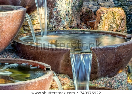 Small water fountain Stock photo © Ronen