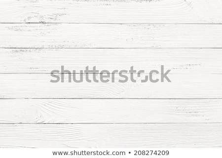 Stock photo: grungy white background of natural wood
