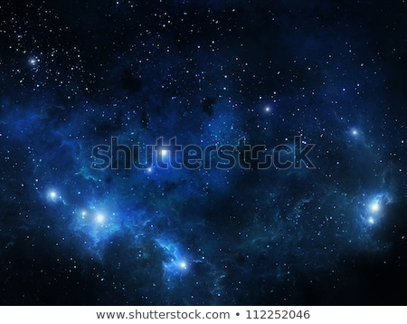 Сток-фото: Nebula Gas Cloud In Deep Outer Space