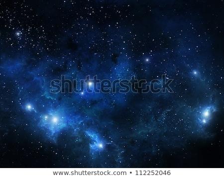 Nebula gaz bulut derin uzay boşluğu parlak Stok fotoğraf © clearviewstock