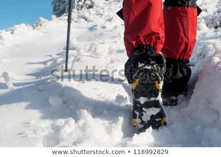 氷 登山 ブーツ ストックフォト © obscura99