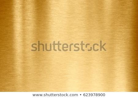 Brass brushed metal Stock photo © haraldmuc